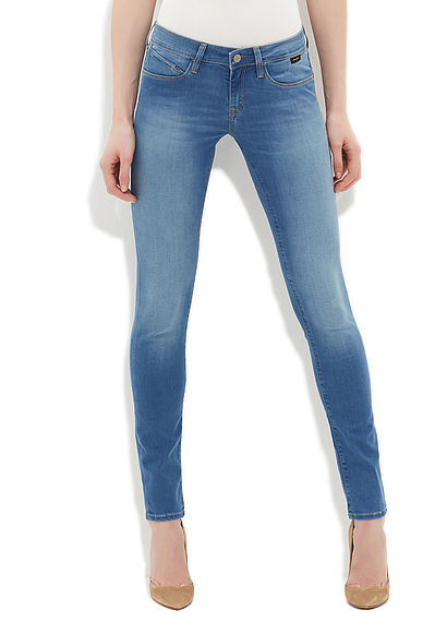 Serena Feather Gold Jean Pantolon