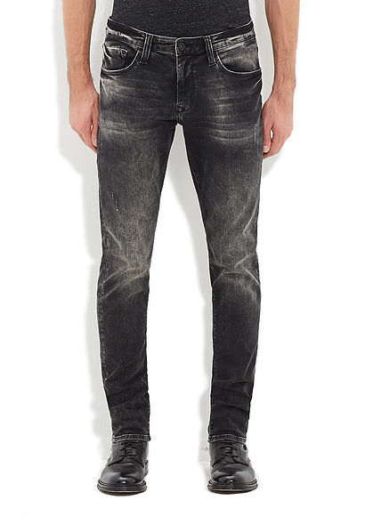 James Siyah Vintage Amerika Black Jean Pantolon