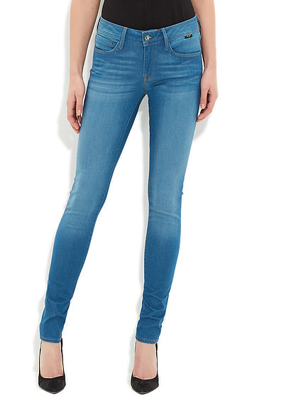 Adriana Feather Gold Jean Pantolon